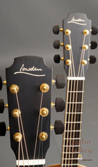 Lowden Wee Twin guitars headstocks