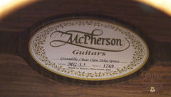 Used McPherson Guitar
