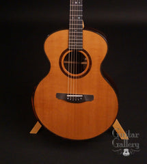 Vince Gill guitar by Rod Schenk with Cedar top