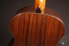 Vince Gill guitar by Rod Schenk heel