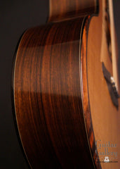 Vince Gill guitar by Rod Schenk bevel