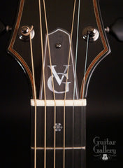 Vince Gill guitar by Rod Schenk truss rod cover inlay
