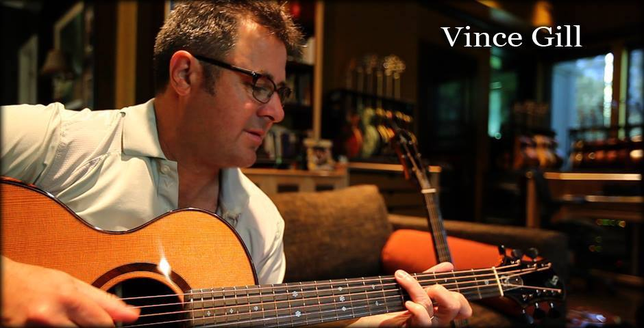 Vince Gill playing a Schenk guitar