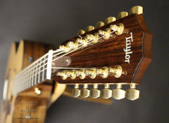 Taylor 754-ce-L1 guitar headstock