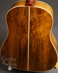 John Walker guitar Brazilian rosewood back