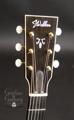 John Walker guitar headstock