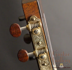 Kim Walker guitar headstock detail