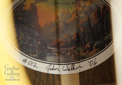 John Walker guitar label