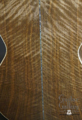 Froggy Bottom P12 Dlx Walnut Guitar back closeup