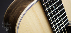 Froggy Bottom P12 Dlx Walnut Guitar detail