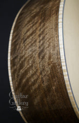 Froggy Bottom P12 Dlx Walnut Guitar side detail