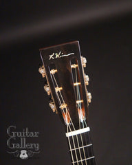 Wingert Cowboy Parlor guitar slotted headstock