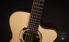 Wingert F Brazilian rosewood guitar at Guitar Gallery