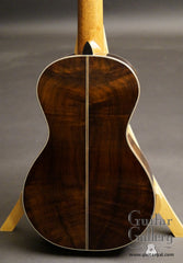 Kathy Wingert classical guitar back