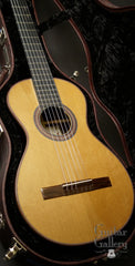 Wingert classical guitar inside case