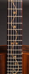 Osthoff guitar with cannibis inlaid fretboard