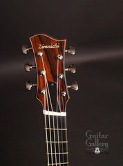 Zimnicki fan fret baritone guitar headstock