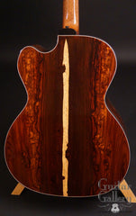 Zimnicki baritone guitar cloud cocobolo back