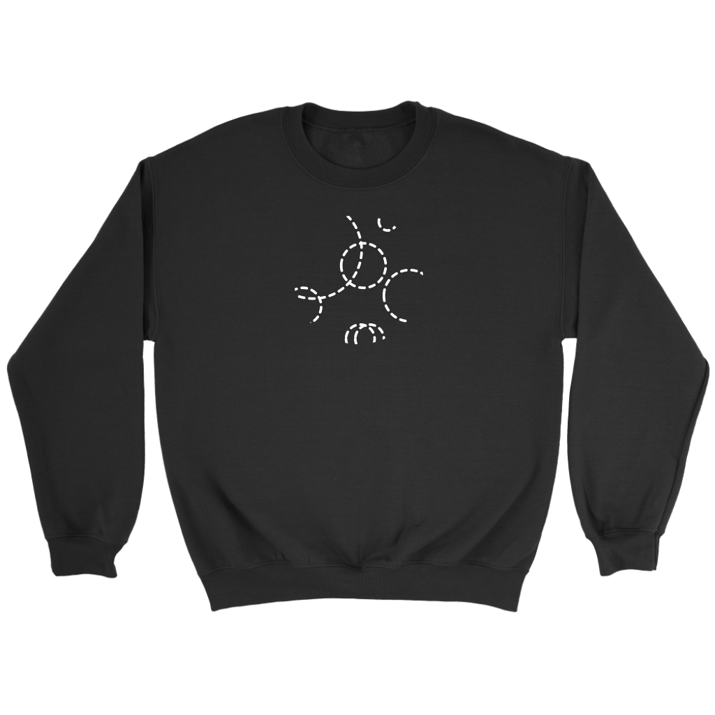 60789972d 01 Connecting circles men's sweatshirt - Individually Connected