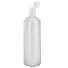 16 oz Easy Squeeze HDPE Bottles Commercial Grade with White Disc Cap - 1 Pack
