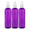 MoYo Natural Labs 8 oz Spray Bottles, Fine Mist Empty Travel Containers, BPA Free PET Plastic for Essential Oils and Liquids/Cosmetics (3 pack, Purple)