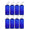 MoYo Natural Labs 4 oz Travel Bottles, Empty Travel Containers with Flip Caps, BPA Free PET Plastic Squeezable Toiletry/Cosmetic Bottles (Neck 20-410) (Pack of 8, Blue)