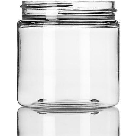 4 oz Shimmering Clear Jar 58-400 Neck