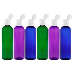 4 oz PET Psychedelic Trio Travel Bottle Set - 6 Pack