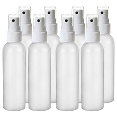 2 oz HDPE Fine Mist Spray Bottle - 8 Pack