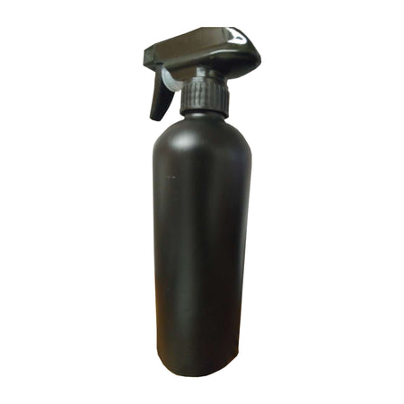 Moyo Natural Labs 24 Oz HDPE Fine Mist Bottle with Trigger BPA Free Container Refillable Reusable Made in USA - (Pack of 1, Black)