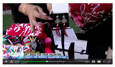 Cate & Chloe Be Bold Collection featured on CW6 San Diego!