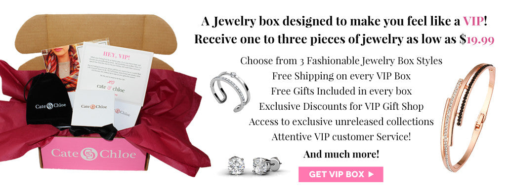 Get VIP Box from Cate and Chloe Jewelry