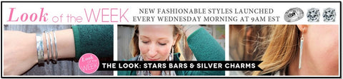 Look of the Week: Stars Bars and Silver Charms