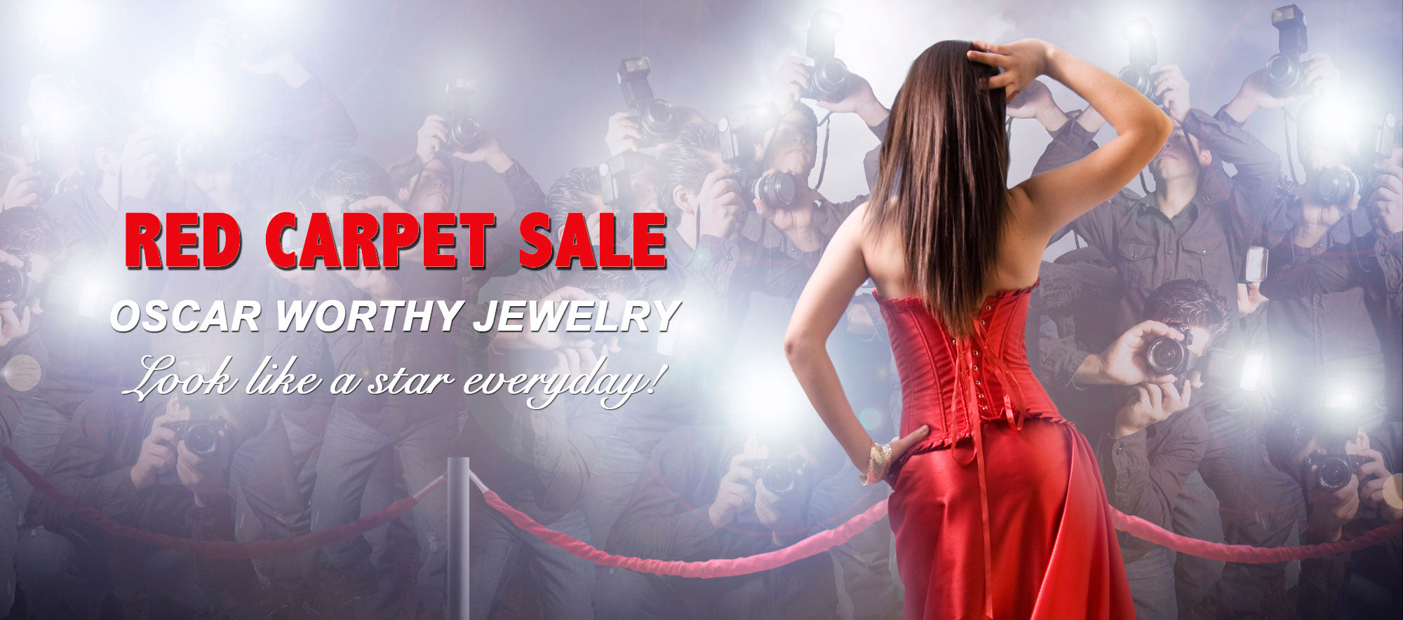 Cate and Chloe Red Carpet Jewelry Sale oscar worthy necklaces earrings rings bracelets for every day.