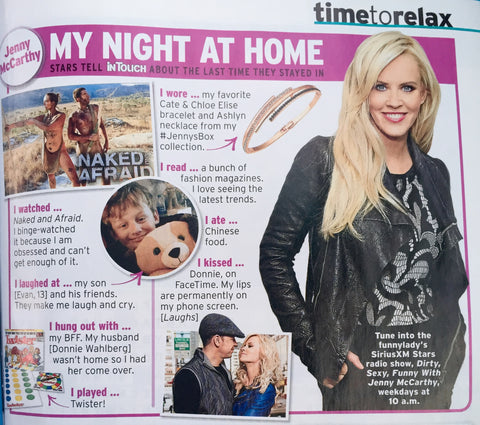 Cate & Chloe seen in InTouch Magazine