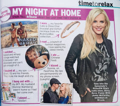 Jenny McCarthy Mentions the Elise Bracelet and Ashlyn Necklace in InTouch Magazine!