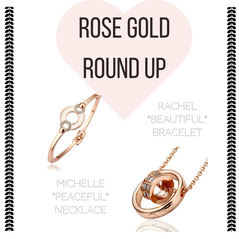 Look of the Week | Rose Gold Round Up