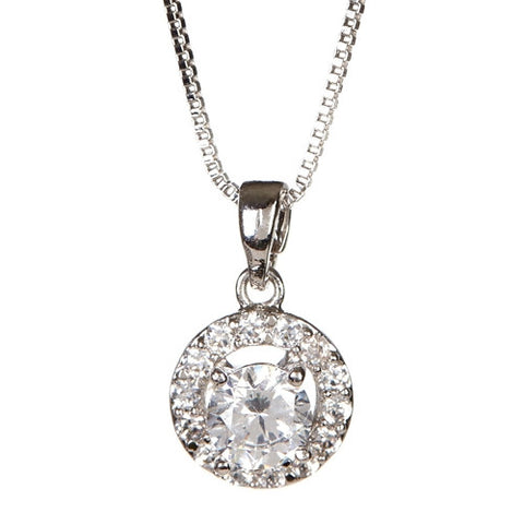 "Layla ""Beauty"" Pendant Necklace - Cate & Chloe  - 1"