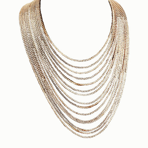 "Lydia ""Dignified"" Statement Necklace - Cate & Chloe"