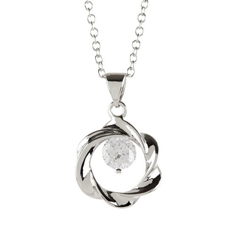 "REMOVED - Connie ""Constant"" Open Circle Pendant Necklace - Cate & Chloe  - 1"