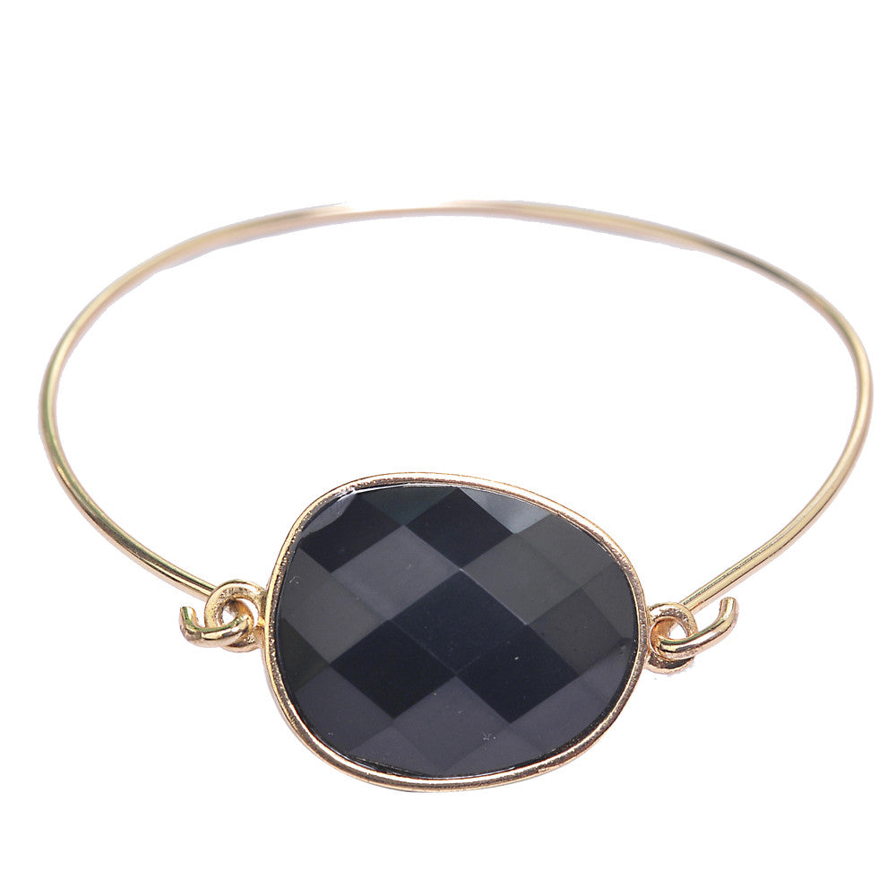 jewelry blk cate gemstone bangles chloe bangle gemma and products gold bracelet bracelets