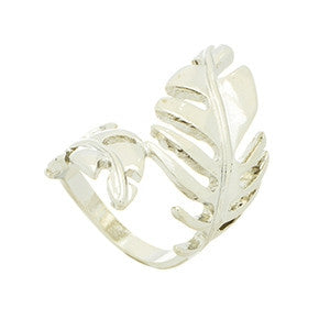 "Lena ""Creation"" Leaf Ring - Cate & Chloe"