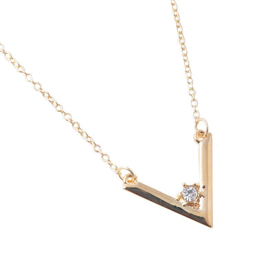 "Alayna ""Brilliant"" Necklace - Cate & Chloe  - 1"