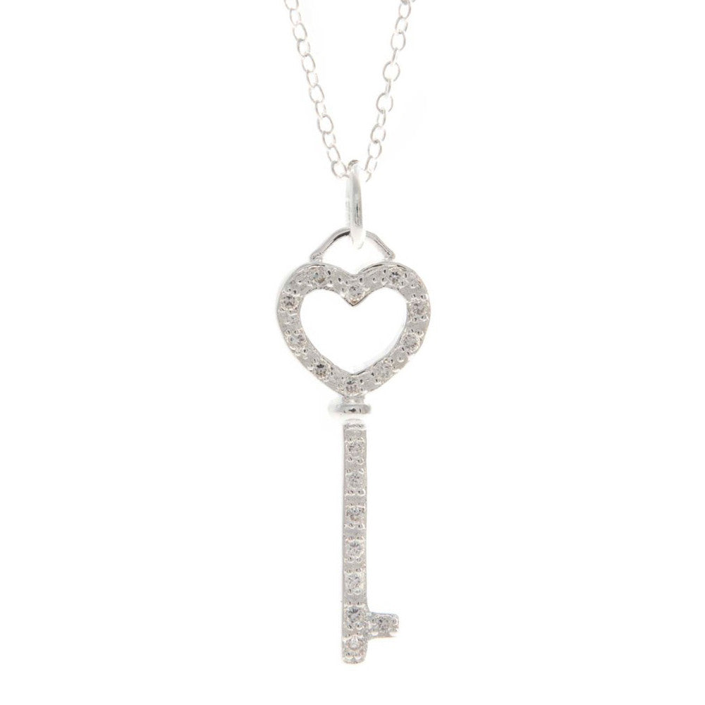 silver ct kaystore mv hover cut to zm key round sterling diamond en necklace zoom kay tw