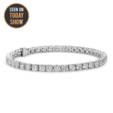 d49c31e80 18k Gold Tennis Bracelet Collection | Cate & Chloe Jewelry