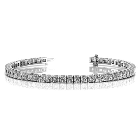 Leila 18k Gold Plated CZ Tennis Bracelet (2 Colors Available)