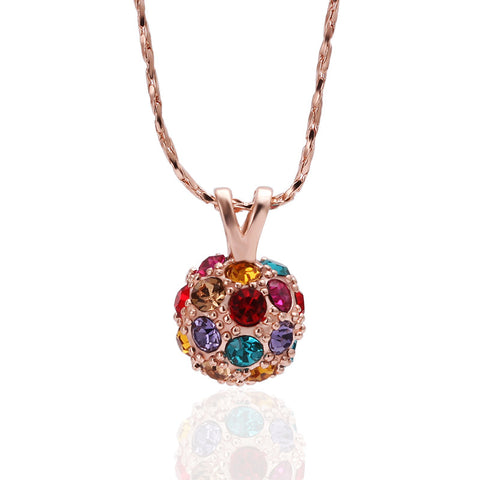 "REMOVED - Moira ""the great"" Disco Pendant Necklace - Cate & Chloe  - 1"