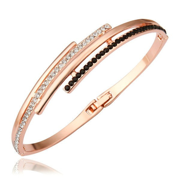 by gold bangle main rose blush charade flask bracelet