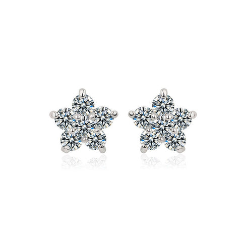 "Earrings,Jewelry - Cher ""Darling"" Flower Studs"