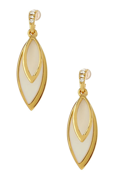 "Earrings,Jewelry - Elisabetta ""Bountiful"" Gold Drop Earrings"